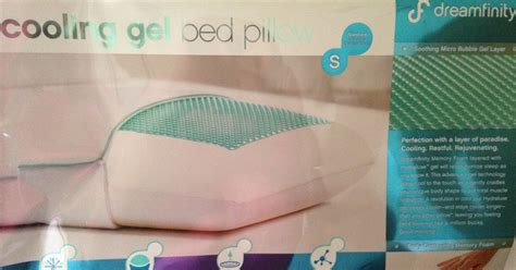 dreamfinity cooling gel bed pillow connie s tipping point dreamfinity cooling gel pillow