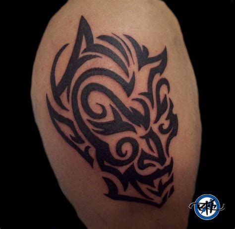 tribal devil tattoo tribal picture
