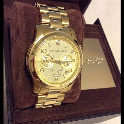 Mk New York Rantai Gold Limited Michael Kors Jewelry Soldmichael Kors Runway Limited