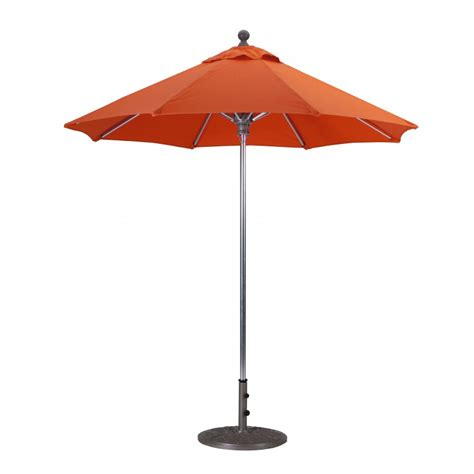 Industrial Patio Umbrellas Galtech 7 5 Commercial Patio Umbrella