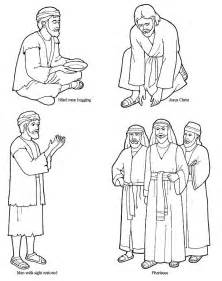 coloring page jesus heals blind coloring pages lds lesson ideas page 3