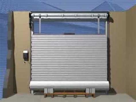 montage d une porte de garage enroulable rollmatic h 246 rmann