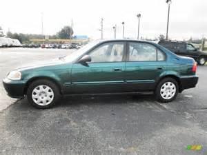 clover green pearl 2000 honda civic vp sedan exterior