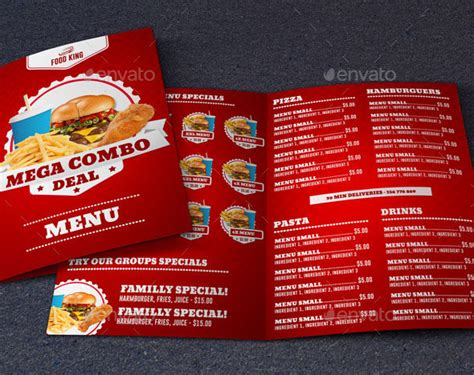 food template psd 40 effective psd restaurant menu design templates web