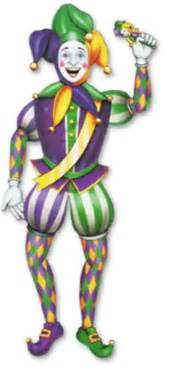 Happytime novelty co medieval jester male jointed 38 quot 55369