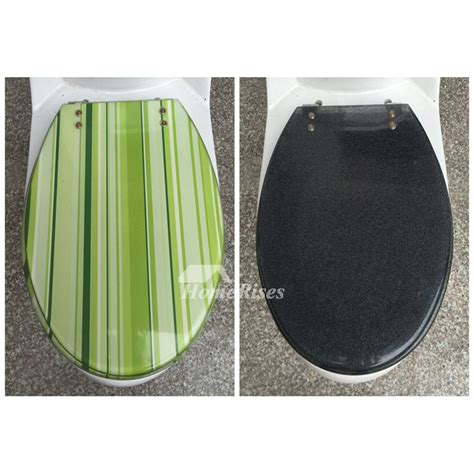 colored toilet seats striped green gray yellow colored resin toilet seat covers