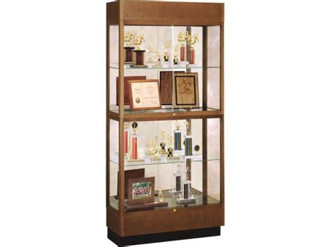 trophy cabinets for home wood 2 tier trophy cabinet mirror 36 quot wx70 quot h trophy