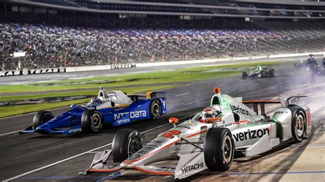 indycar race motor speedway will power endures to win crash filled indycar race at