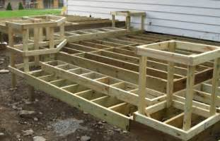 building a deck plans how to build a deck diy do it yourself step by step