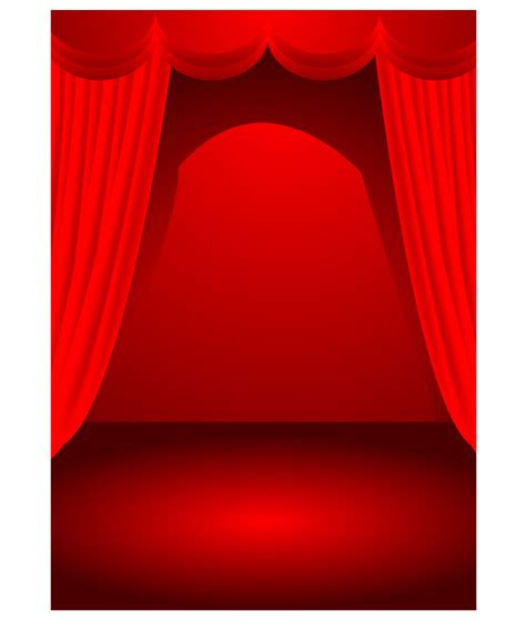 free stage background design vector theater stage theme vector free vector 4vector
