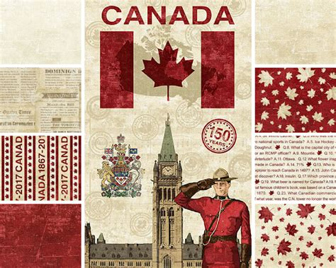 pattern fabric canada sew sisters quilt shop canadian sesquicentennial from