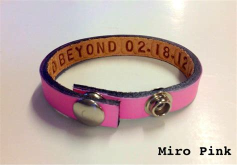 personalized leather bracelet for couples by