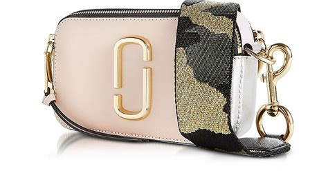 Marc Snap Shop Black Multi marc pale pink multi snapshot bag at forzieri