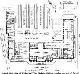Train Station Floor Plan Ground Floor Plan Of Wellingtons New Railway Station