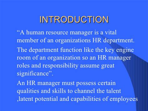 7 Great Qualities To Possess by Qualities Of Hrm