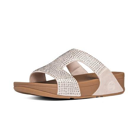 slide in sandals fitflop rokkit slide s sandals in suede