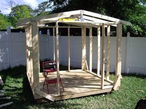 How To Build An Outdoor Shed easy diy storage shed ideas just craft diy projects