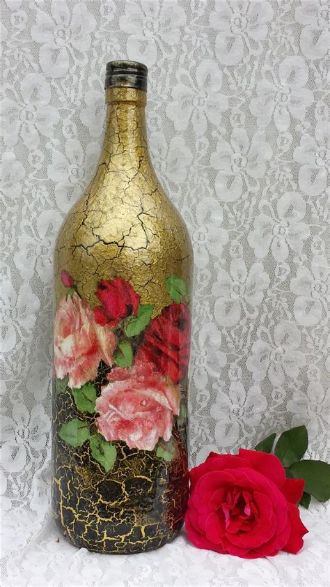 Spray Decoupage - best 25 spray painted bottles ideas on paint