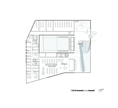 Architecture Floor Plans Gallery Of Plassen Cultural Center 3xn Architects 24