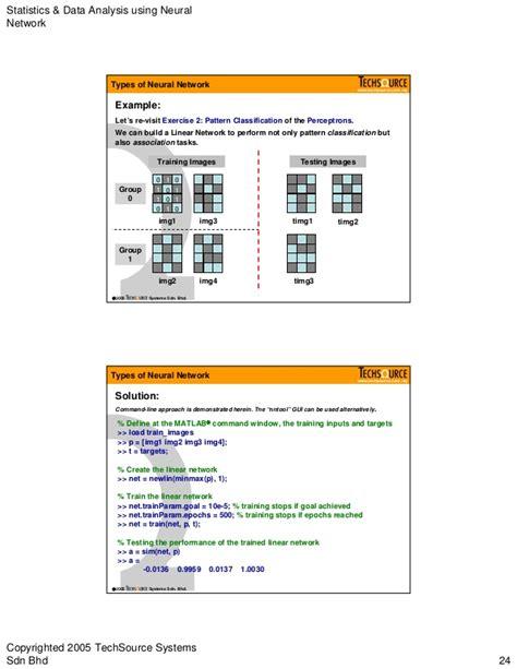 pattern classification errata neural network in matlab