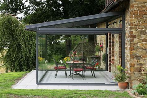 serre da terrazzo obi foto copertura terrazza in vetro di valeria treste