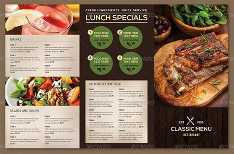 free food menu templates food menu template doliquid