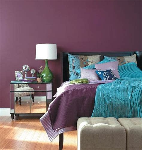 purple paint colors for bedrooms for the home