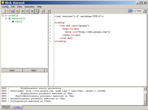 webharvest tutorial net prophet another tool webharvest tutorial part 1