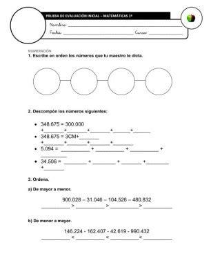 preguntas personales n 400 nuevas pruebas de evaluaci 243 n inicial tercer ciclo primaria
