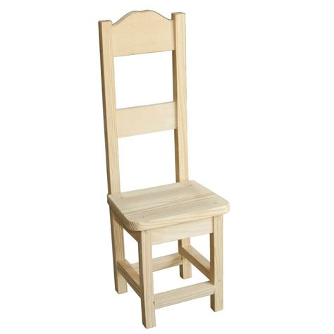designer wooden high chair houseworks unfinished wood decor decorative high back