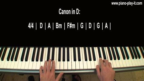 Tutorial Piano Canon | canon in d piano tutorial pachelbel youtube