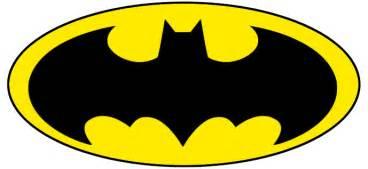batman template printable batman logo clipart best