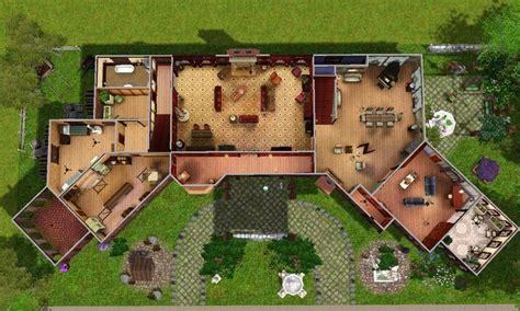salvatore house plan mod  sims glenridge hall