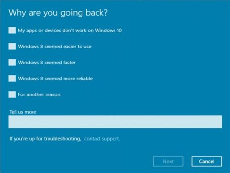 uninstall windows 10 and reinstall 7 how to uninstall windows 10 and return to windows 7 or 8