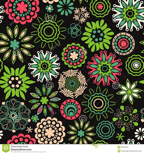 Floral Seamless floral seamless texture endless pattern with flowers