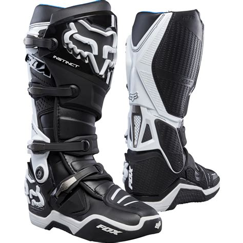 yamaha motocross boots fox racing instinct boots black sixstar racing