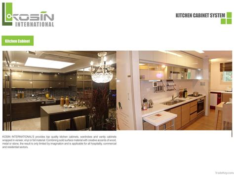 kitchen cabinet system kosin kitchen cabinet system by kosin international vietnam