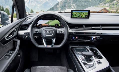audi q9 2017 interior 2017 audi q7 drive review car and driver