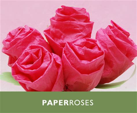 Make Roses Out Tissue Paper - 13 diy tissue paper roses guide patterns