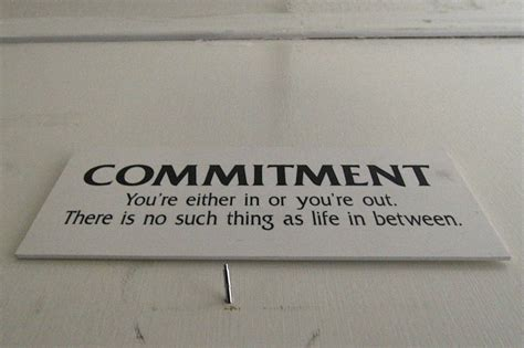 Commit To Commitment by My Fear Of Commitment Nz Muse