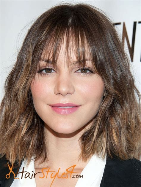 hairstyles with bangs for diamond shaped face which bangs are perfect for diamond face shape 2016
