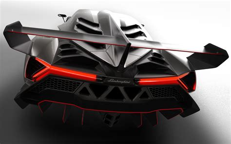 lamborghini back view lamborghini veneno rear view photo 9