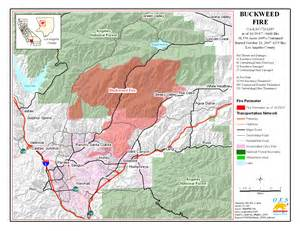 map of current fires in southern california california map