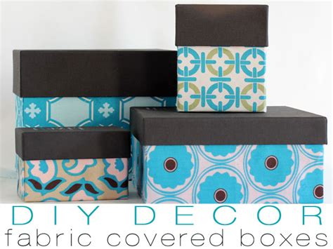 how to decorate shoe boxes for storage diy fabric storage boxes