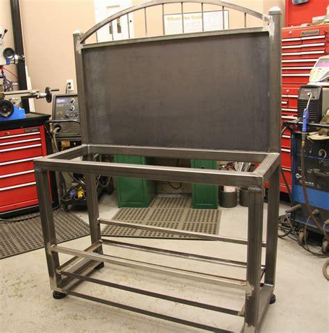 bench grinder stand plans diy