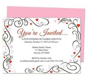 you re invited template invitation sample pinterest