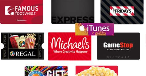 Famous Footwear Gift Card - gift card sale 50 amc theatres gift card 40 50 famous footwear express buca di
