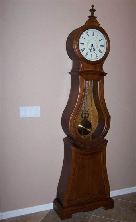 Ethan Allen Floor Ls by Ethan Allen Bombe Floor Clock Grandfather Gorgeous Clock This And