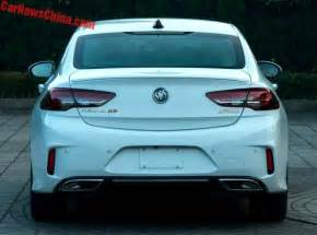 Buick Regal Turbo Gs 2018 Buick Regal Gs Leaks In China Has 2 0t Engine