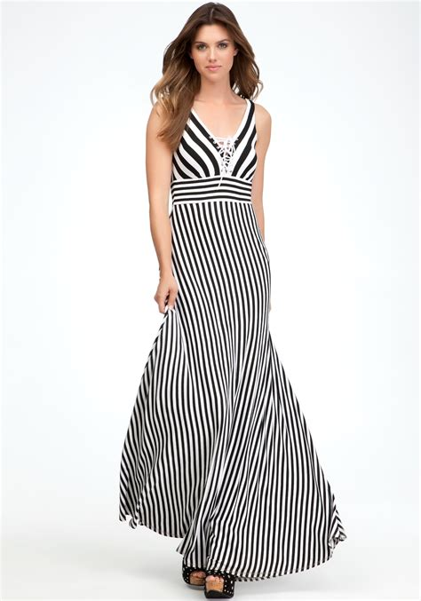 Dress Maxi Lucia Dress Black White black and white maxi dresses cocktail dresses 2016